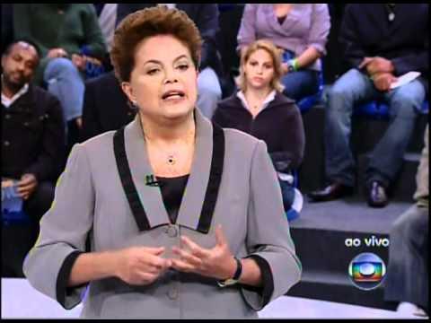 Debate Globo - Dilma fala sobre valorização do funcionalismo público