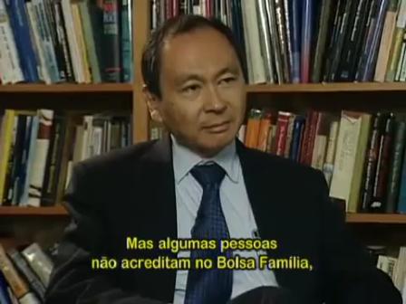 Bolsa Família na visão de Francis Fukuyama