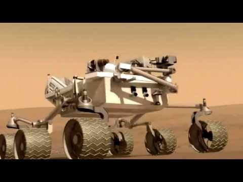 Mars Science Laboratory e o robô Curiosity