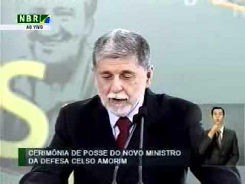 Posse do novo Ministro da Defesa Celso Amorim