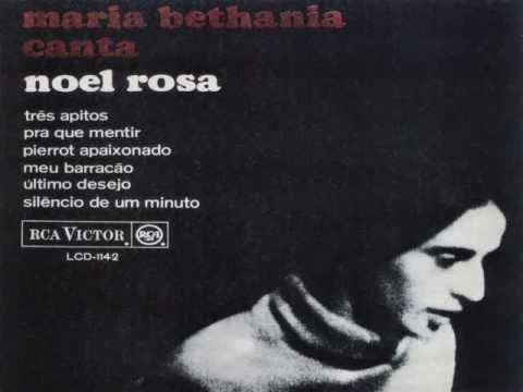 """MARIA BETHÂNIA - """"Prá Que Mentir"""" (Noel Rosa & Vadico) 1965"""
