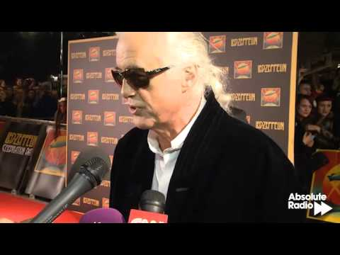 Led Zeppelin's Jimmy Page talks to Absolute Radio about 'Celebration Day'