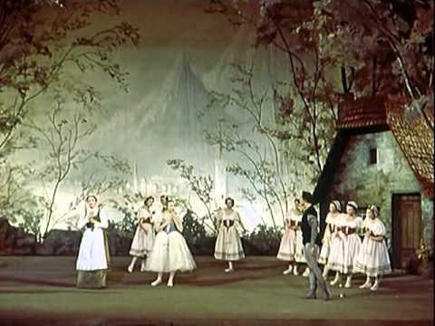 Giselle, com Galina Ulanova: Apresentação do Ballet Bolshoi em Londres.