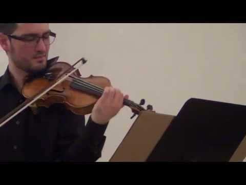 Grieg: Violin Sonata nº 2 - Pedro Barreto & Marina Kapitanova