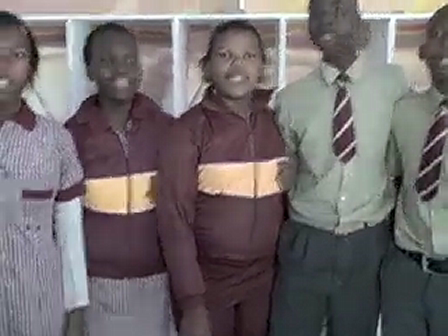 "Siyazakha Junior High Students - ""Matter matters"""