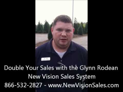 Double Your Sales with the Glynn Rodean New Vision Sales System