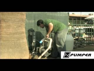 Z Pumper- The Ultimate Pool Pumper Cleaner