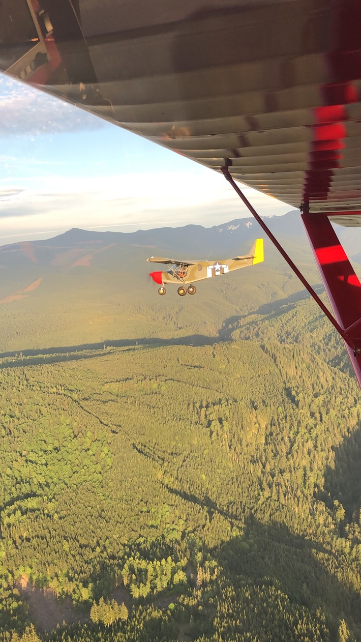 Flying with a kitfox