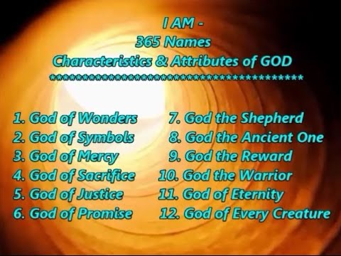 I AM - 365 Names of God with Scripture Quotations