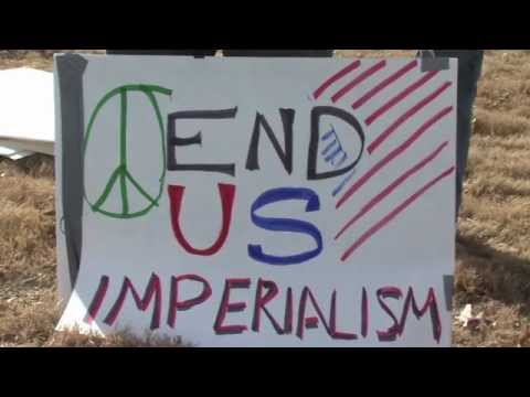 KTUL 8 Coverage of Joint Occupy Tulsa and Tulsa Peace Fellowship Anti War Demo