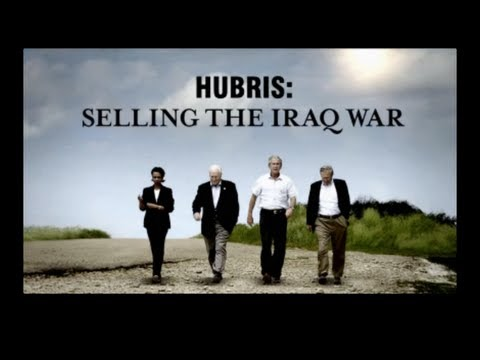 """""""Hubris"""" documents Bush-Cheney-Rumsfeld-Wolfowitz Conspiracy to Go to War in Iraq on Basis of a Hoax"""