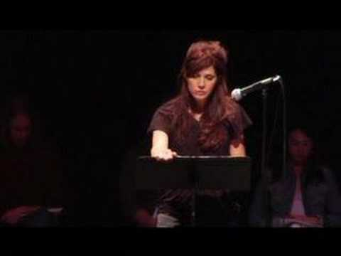 Marisa Tomei reads Cindy Sheehan, Gold Star Mom and Anti-War Activist