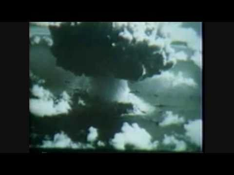 Bikini Atoll Atomic Bomb Test Baker, 25 July 1946 - The sinking of the Aircraft Carrier Saratoga by the American Navy In The Pacific