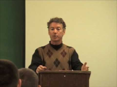 Rand Paul Says Dick Cheney Pushed for the Iraq War So Halliburton Would Profit