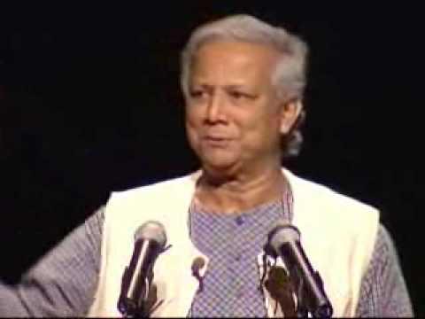 Muhammad Yunus - Social Business & Microcredit