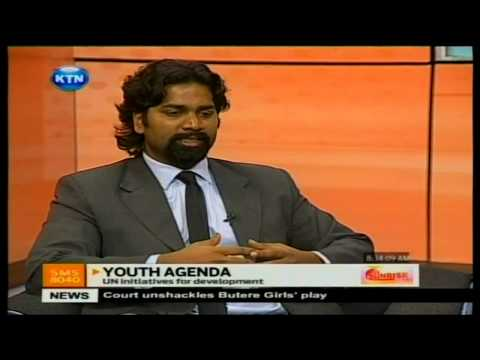 Youth Agenda and the United Nations - April 2013 on KTN