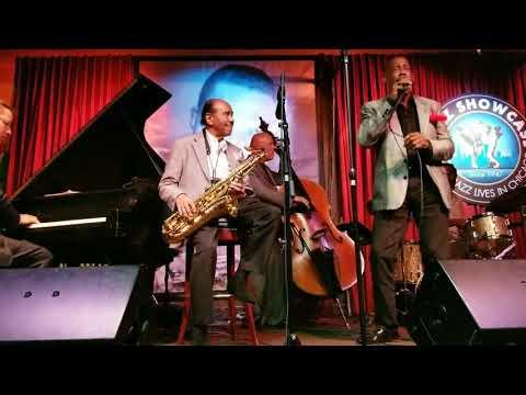 "Benny Golson surprise guest ""The Jazz Scatter"" George V Johnson Jr"