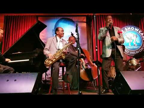 "Benny Golson surprise guest ""The Jazz Scatter"" George V Johnson Jr"