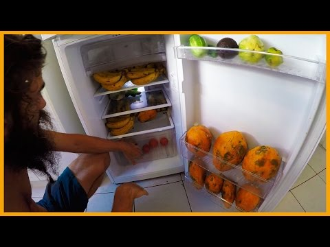 WHAT'S IN OUR FRIDGE: WHAT WE EAT IN AUSTRALIA ON A RAW VEGAN DIET
