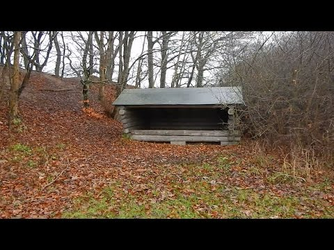 The Secret Shelters In Denmark - A Winter Expedition