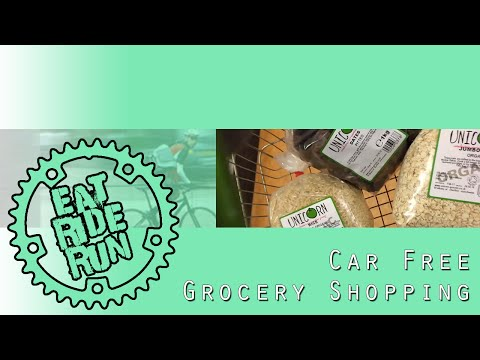 Car Free Grocery Shopping | HOW TO