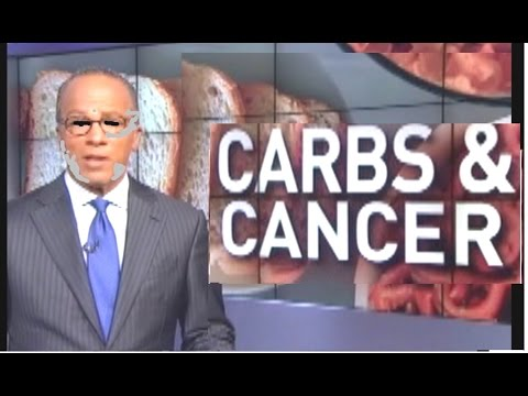 "NBC: ""Do CARBS cause CANCER?""   I got your answer right here fool"