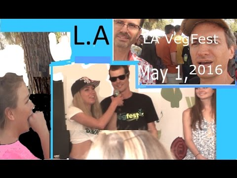 VegFest L.A. was Epic FUN   See Harley, Freelee, Jane Velez and the crowd