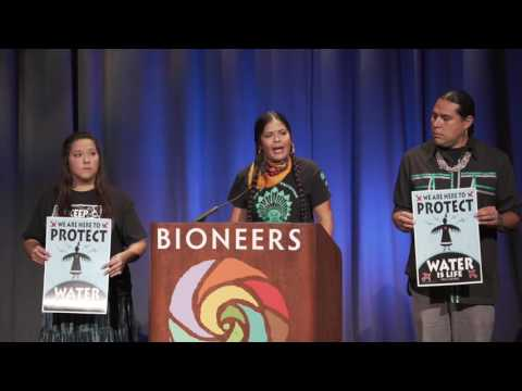 Standing Rock Update and Indigenous Call to Action - Bioneers 2016