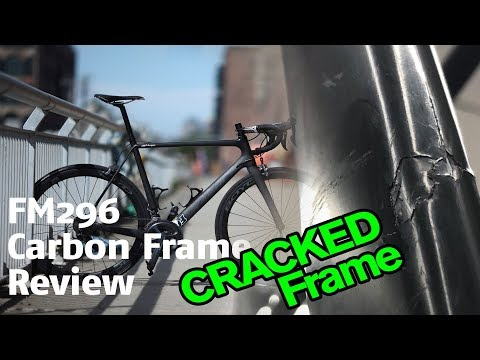 Chinese Carbon Frame Cracked FM296 Hong Fu Bikes