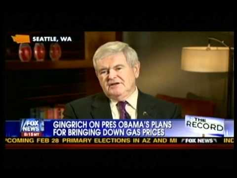 Newt'ism : Obama's energy policy is like an SNL Skit-