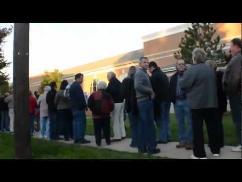 The Never-ending Line to See Mitt Romney Part 2