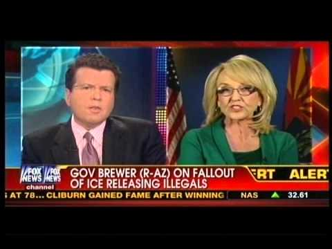 Gov. Brewer BLASTS White House: They're Releasing Illegal Criminals...