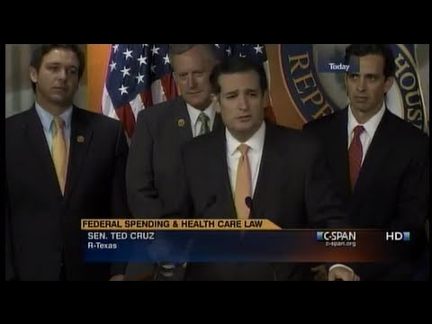 Sen. Ted Cruz and Sen. Mike Lee join House Republicans in Defund Obamacare Press Conference