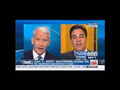 Anderson Cooper Raul Labrador. This Isn't Fox or MSNBC, You're Getting Real Questions Here
