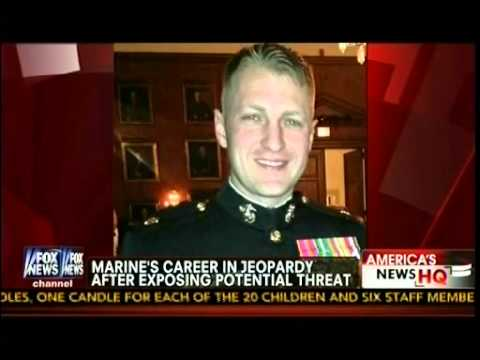 Marine's Career In Jeopardy After Exposing Potential  Threat Link To Taliban - Wake Up America