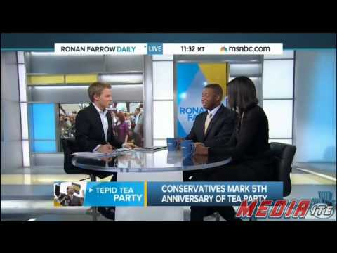 MSNBC Guest Tara Dowdell: We 'Made the Mistake of Laughing' at the Tea Party