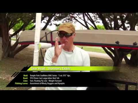 Kayak Fish Journal Episode 1   The Guadalupe River Trout   Broadband
