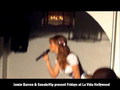 Ashlee Ricci hosted Pre Halloween fashion show at La Vida Hollywood