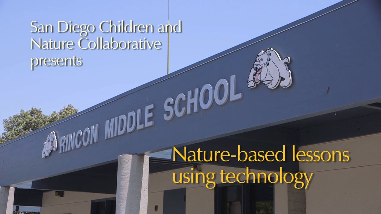 Nature-Based Lessons Using Technology - Rincon Middle School