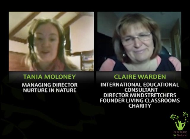 TANIA MOLONEY FROM NURTURE IN NATURE INTERVIEWS CLAIRE WARDEN