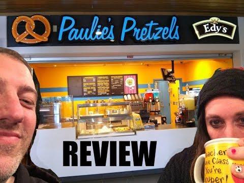 """Brian & Ian's """"Paulie's Pretzels"""" review"""