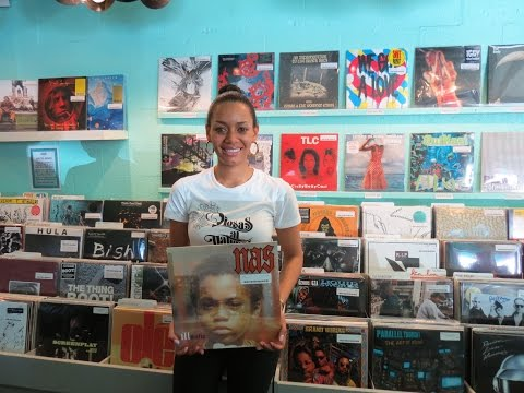 Analog Lady Visits Sweat Records in Miami