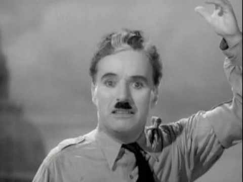 Charlie Chaplin final speech in The Great Dictator
