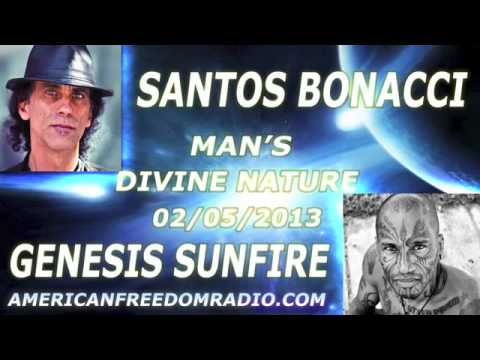 Santos Bonacci With Genesis Sunfire - Mans Divine Nature from a Liquidarian/Breatharian