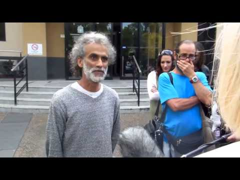 SANTOS BONACCI SPEAKS AFTER COURT - EXPOSES ENTIRE LEGAL FRAUD TO LOCAL NEWS