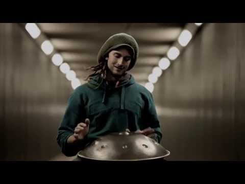 Daniel Waples - Solo hang played in a tunnel :) (HD)