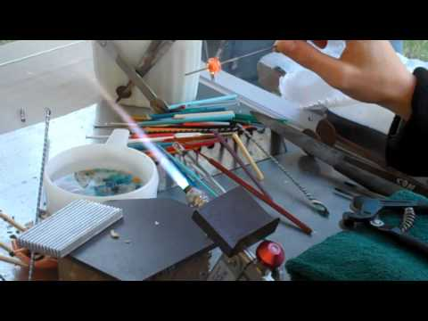 Glass Bead Making Demonstration