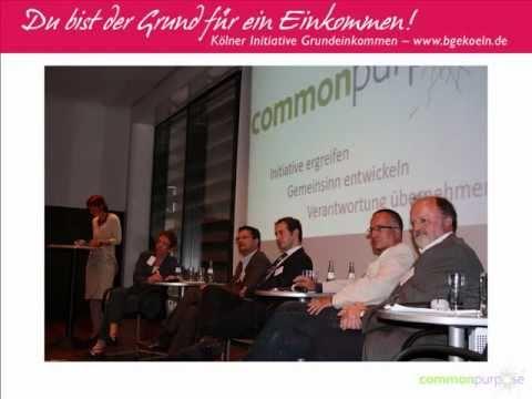 """Vortrag und Podiumsdiskussion zum Thema """"Bedingungsloses Grundeinkommen"""""""