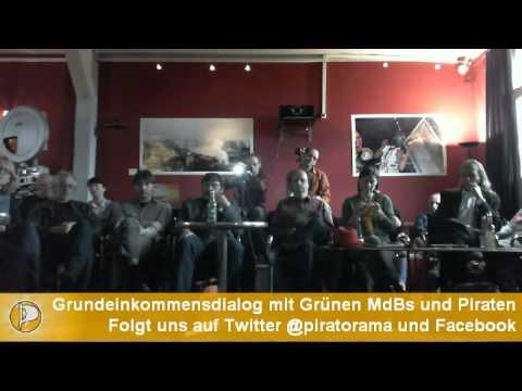BGE - Piraten - Grüne Diskussion im Kino Sputnik 24.09.2012