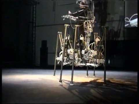 Exoskeleton Performance by Stelarc